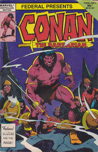 Cover Thumbnail for Conan the Barbarian (Federal, 1984 series) #4
