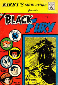 Cover Thumbnail for Black Fury (Charlton, 1959 series) #1 [Kirby's]