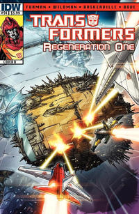 Cover for Transformers: Regeneration One (IDW, 2012 series) #94