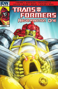 Cover Thumbnail for Transformers: Regeneration One (IDW, 2012 series) #0
