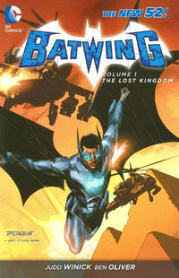 Cover Thumbnail for Batwing (DC, 2012 series) #1 - The Lost Kingdom
