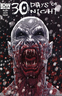 Cover Thumbnail for 30 Days of Night (IDW, 2011 series) #4 [Retailer Incentive (R()]