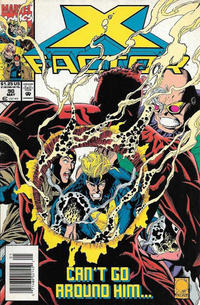 Cover for X-Factor (Marvel, 1986 series) #90 [Direct Edition]