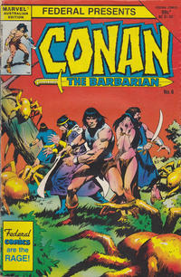 Cover Thumbnail for Conan the Barbarian (Federal, 1984 series) #6