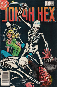 Cover Thumbnail for Jonah Hex (DC, 1977 series) #84 [Newsstand]