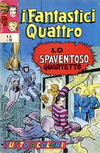 Cover Thumbnail for I Fantastici Quattro (Editoriale Corno, 1971 series) #31