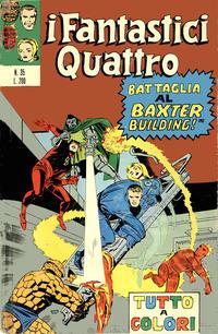 Cover Thumbnail for I Fantastici Quattro (Editoriale Corno, 1971 series) #35
