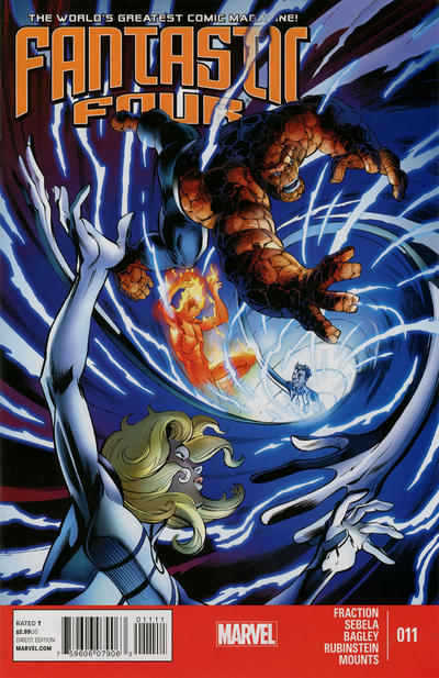Cover for Fantastic Four (Marvel, 2013 series) #11