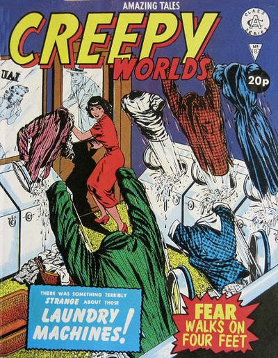 Cover for Creepy Worlds (Alan Class, 1962 series) #187