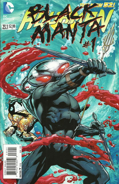 Cover for Aquaman (DC, 2011 series) #23.1 [3-D Motion Cover]