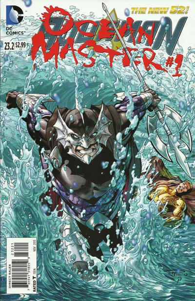 Cover for Aquaman (DC, 2011 series) #23.2 [3-D Motion Cover]