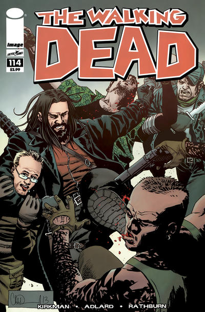 Cover for The Walking Dead (Image, 2003 series) #114