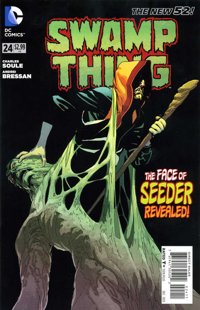 Cover for Swamp Thing (DC, 2011 series) #24