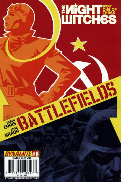 Cover for Battlefields: The Night Witches (Dynamite Entertainment, 2008 series) #1
