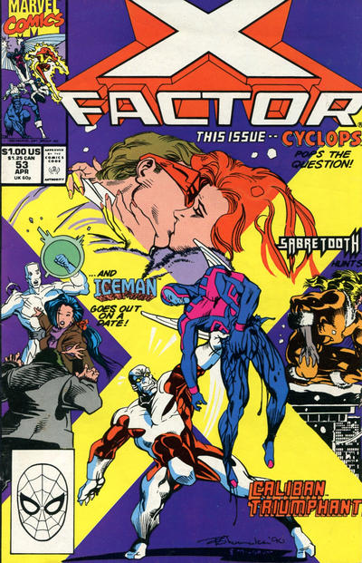 Cover for X-Factor (Marvel, 1986 series) #53 [Direct Edition]