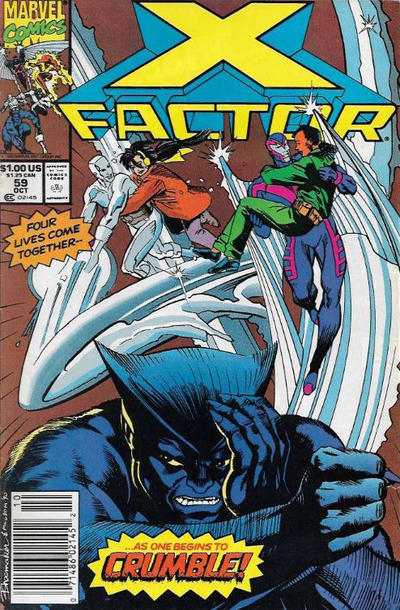 Cover for X-Factor (Marvel, 1986 series) #59 [Newsstand Edition]