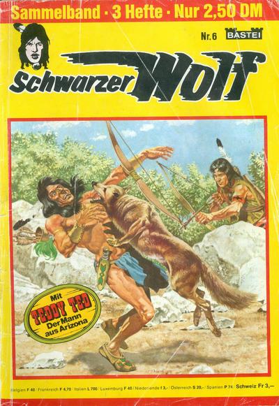 Cover for Schwarzer Wolf Sammelband (Bastei Verlag, 1975 series) #6