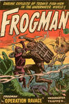 Cover for Frogman (Horwitz, 1953 ? series) #1