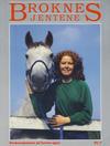 Cover for Broknesjentene (Serieforlaget / Se-Bladene / Stabenfeldt, 1988 series) #7