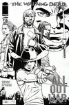 Cover Thumbnail for The Walking Dead (2003 series) #115 [Cover N - Midnight Release Black & White Variant by Charlie Adlard]