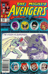 Cover Thumbnail for The Avengers (1963 series) #253 [Newsstand Edition]