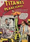 Cover for Titanes Planetarios (Editorial Novaro, 1953 series) #58