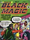 Cover for Black Magic Comics (Arnold Book Company, 1952 series) #7 ['Comics' in yellow]