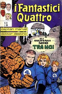 Cover Thumbnail for I Fantastici Quattro (Editoriale Corno, 1971 series) #41