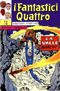 Cover Thumbnail for I Fantastici Quattro (Editoriale Corno, 1971 series) #43