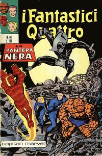 Cover Thumbnail for I Fantastici Quattro (Editoriale Corno, 1971 series) #48