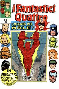 Cover Thumbnail for I Fantastici Quattro (Editoriale Corno, 1971 series) #50