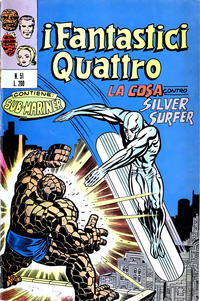 Cover Thumbnail for I Fantastici Quattro (Editoriale Corno, 1971 series) #51