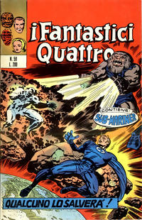 Cover Thumbnail for I Fantastici Quattro (Editoriale Corno, 1971 series) #59