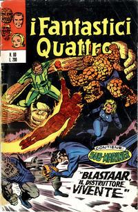 Cover Thumbnail for I Fantastici Quattro (Editoriale Corno, 1971 series) #60