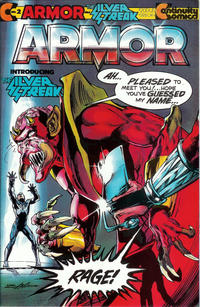 Cover Thumbnail for Armor (Continuity, 1985 series) #2 [Direct]