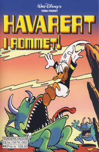 Cover Thumbnail for Donald Duck Tema pocket; Walt Disney's Tema pocket (Hjemmet / Egmont, 1997 series) #[61] - Havarert i rommet!
