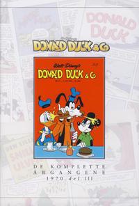 Cover Thumbnail for Donald Duck & Co De komplette årgangene (Hjemmet / Egmont, 1998 series) #[108] - 1970 del 3