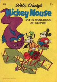 Cover Thumbnail for Walt Disney's Mickey Mouse (W. G. Publications; Wogan Publications, 1956 series) #84