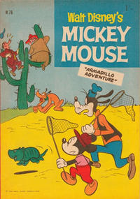 Cover Thumbnail for Walt Disney's Mickey Mouse (W. G. Publications; Wogan Publications, 1956 series) #76