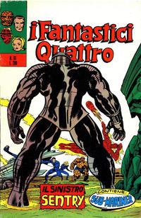 Cover Thumbnail for I Fantastici Quattro (Editoriale Corno, 1971 series) #61