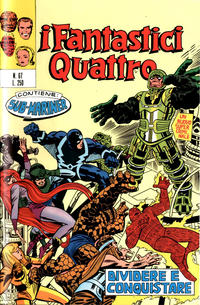 Cover Thumbnail for I Fantastici Quattro (Editoriale Corno, 1971 series) #67