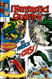 Cover Thumbnail for I Fantastici Quattro (Editoriale Corno, 1971 series) #69