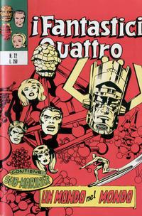Cover Thumbnail for I Fantastici Quattro (Editoriale Corno, 1971 series) #72