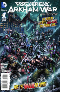 Cover Thumbnail for Forever Evil: Arkham War (DC, 2013 series) #1