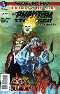 Cover Thumbnail for Trinity of Sin: The Phantom Stranger (DC, 2013 series) #12