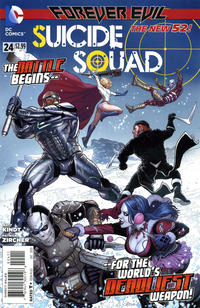 Cover Thumbnail for Suicide Squad (DC, 2011 series) #24