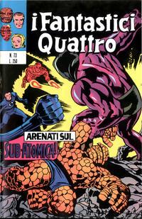 Cover Thumbnail for I Fantastici Quattro (Editoriale Corno, 1971 series) #73