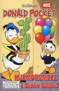 Cover Thumbnail for Donald Pocket (Hjemmet / Egmont, 1968 series) #405 - Kjempesmell i Santa Siesta!