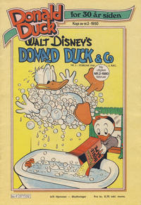 Cover Thumbnail for Donald Duck for 30 år siden (Hjemmet / Egmont, 1978 series) #2/1980