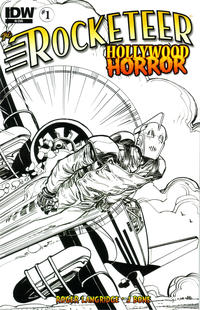 Cover Thumbnail for The Rocketeer: Hollywood Horror (IDW, 2013 series) #1 [RI (Retailer Incentive)]